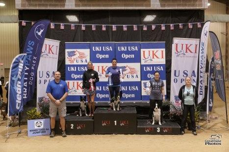 UKI USA Open Sheyla and Shiny 1st place
